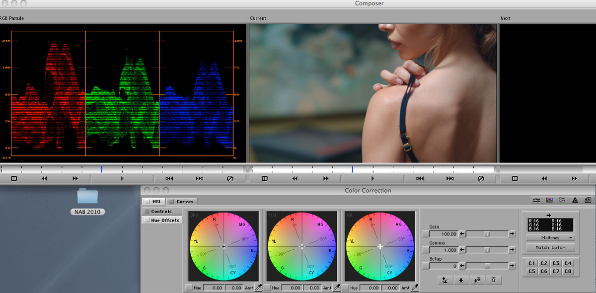 Grading with Color Wheels « digitalfilms