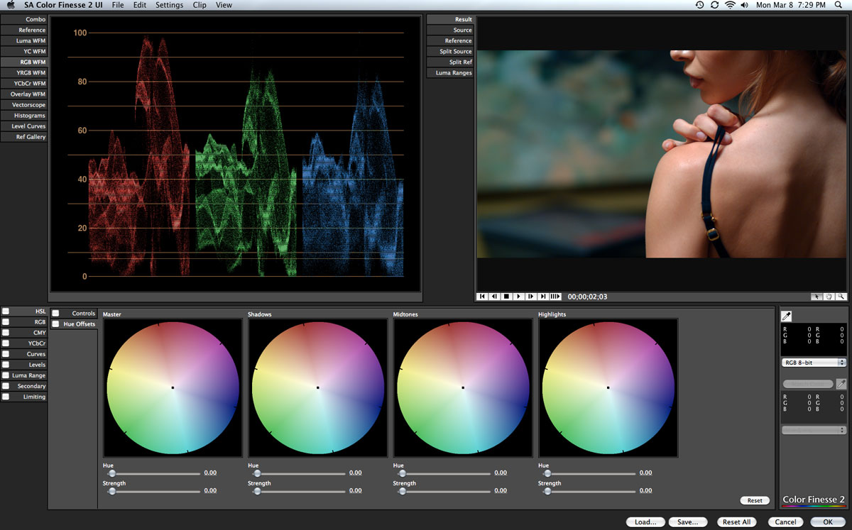 Color Correction effects