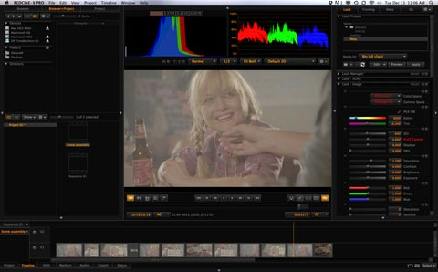 How to conform r3d files in red cine-x pro