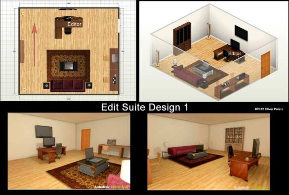 DIY Home Studio Desk Design Plans Wooden PDF how to make benches