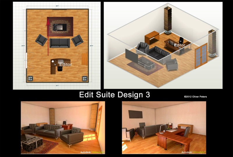 home studio desk design plans