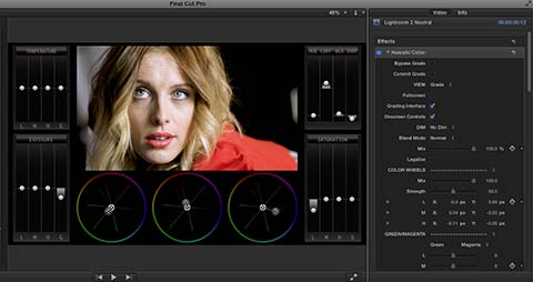 Colour Grading In FCPX