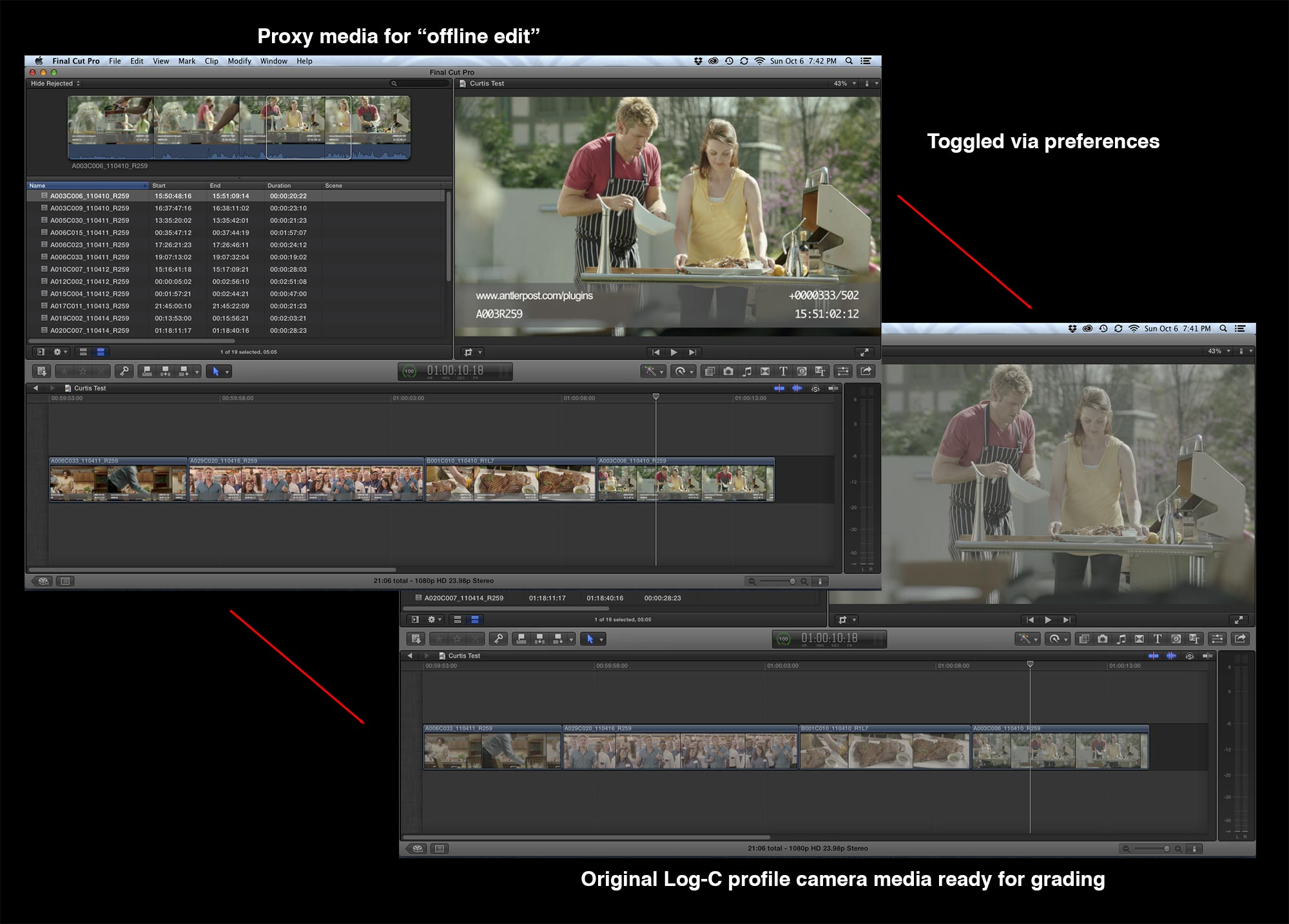 Offline to Online with Premiere Pro or Final Cut Pro X | digitalfilms