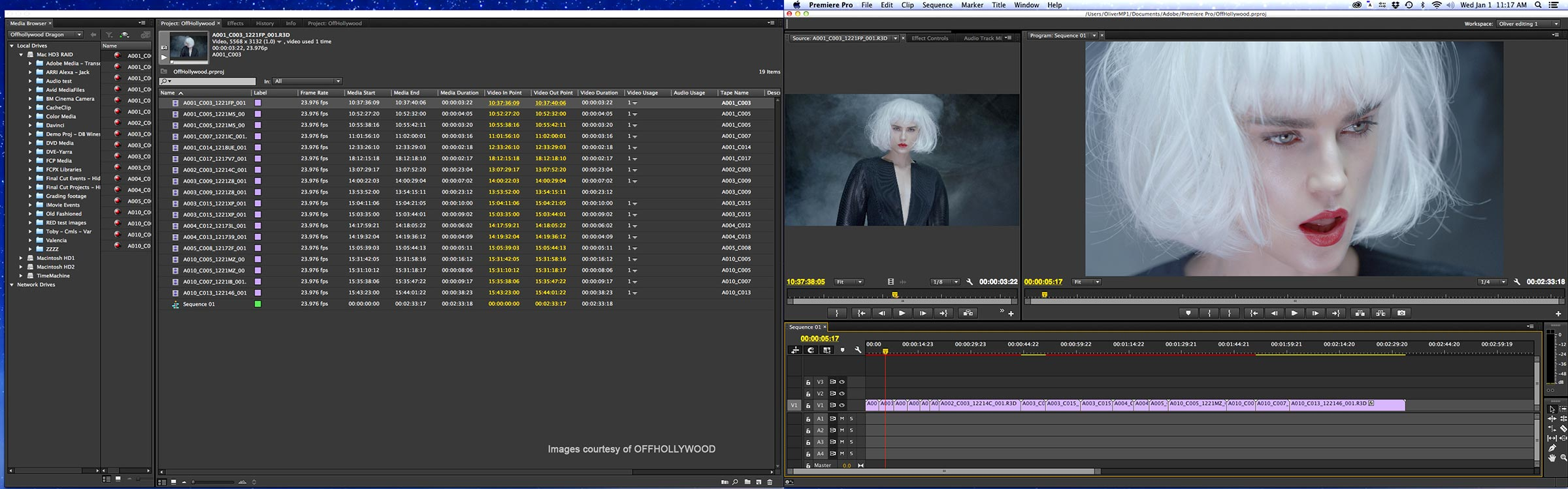Premiere pro on 2 screens