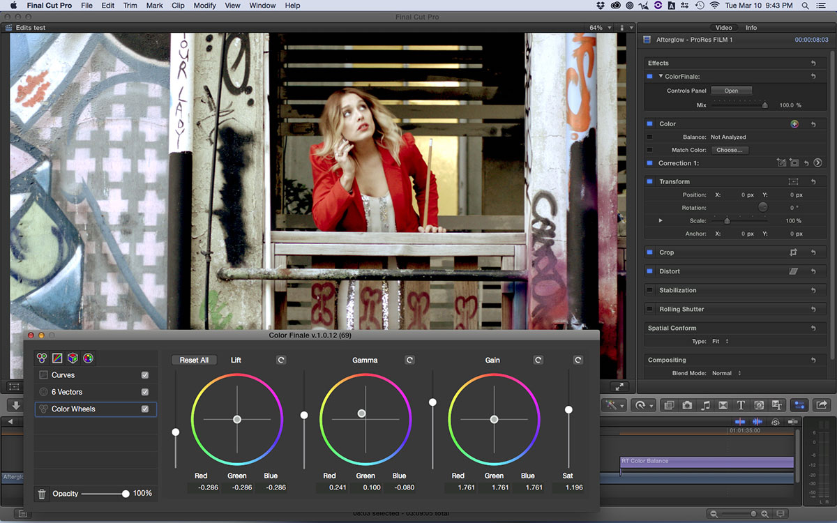 Color Finale « digitalfilms