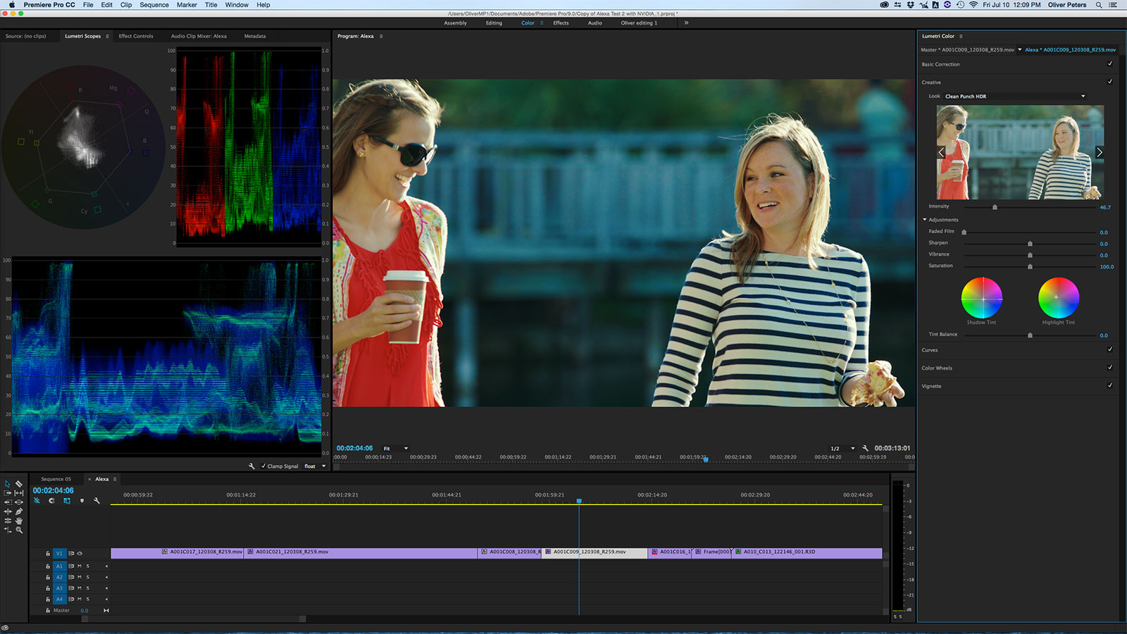 A deeper dive into lumetri color digitalfilms df2715lumetri1sm with the introduction of premiere pro cc 2015 adobe altered how ccuart Images