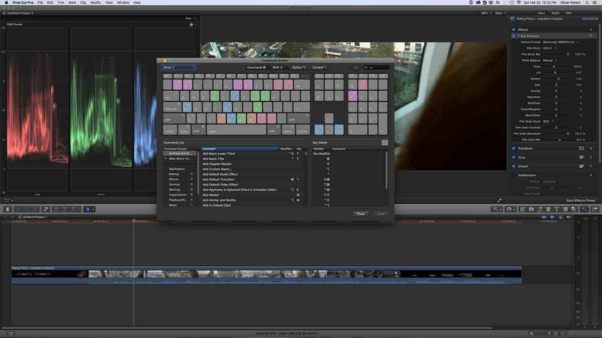Final Cut Pro X Keyboard Tips | digitalfilms