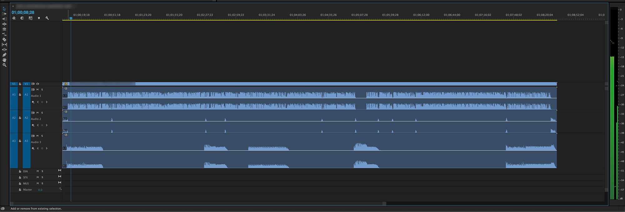 Audio Splits and Stems in Premiere Pro | digitalfilms