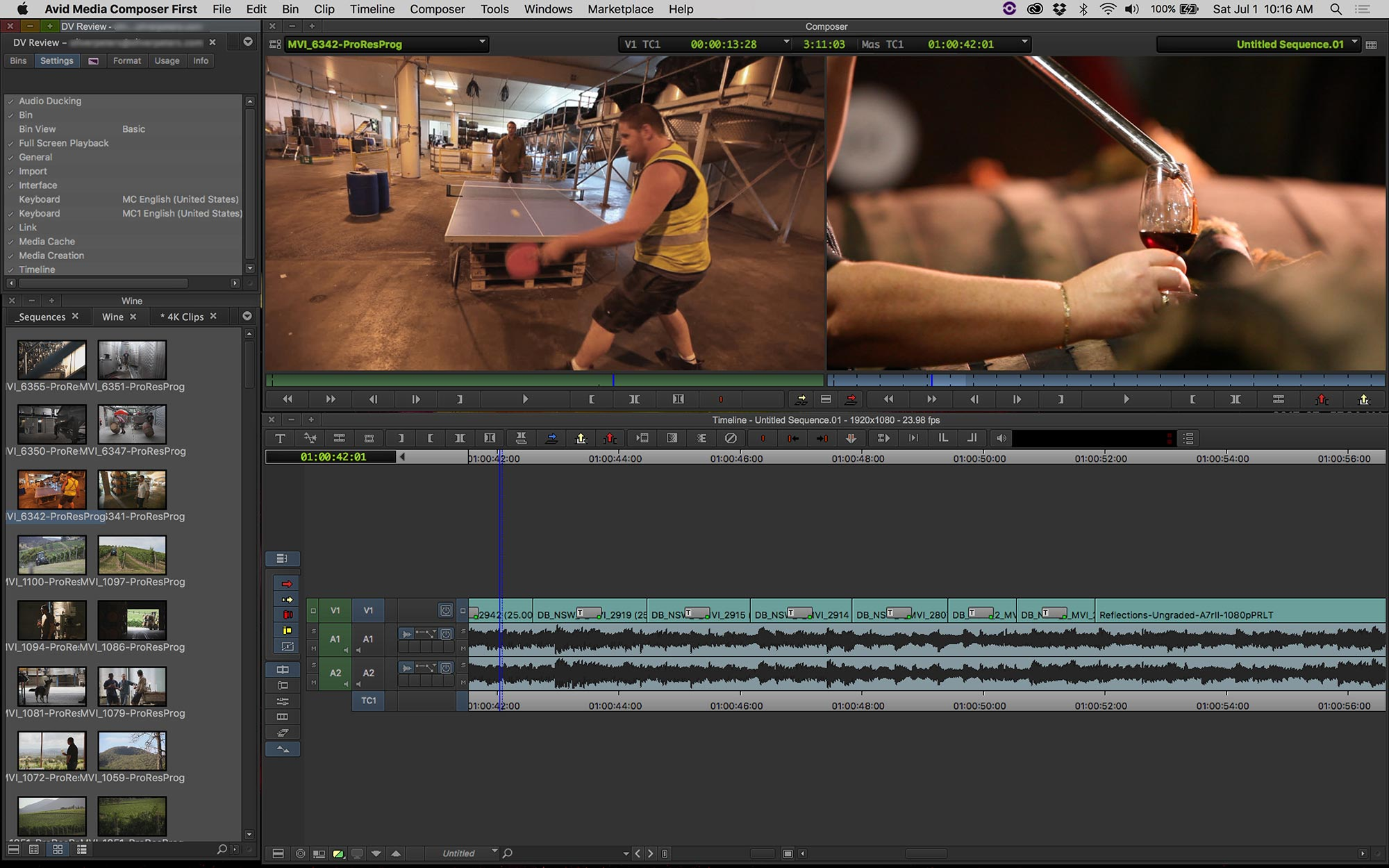 Avid Media Composer | First « digitalfilms