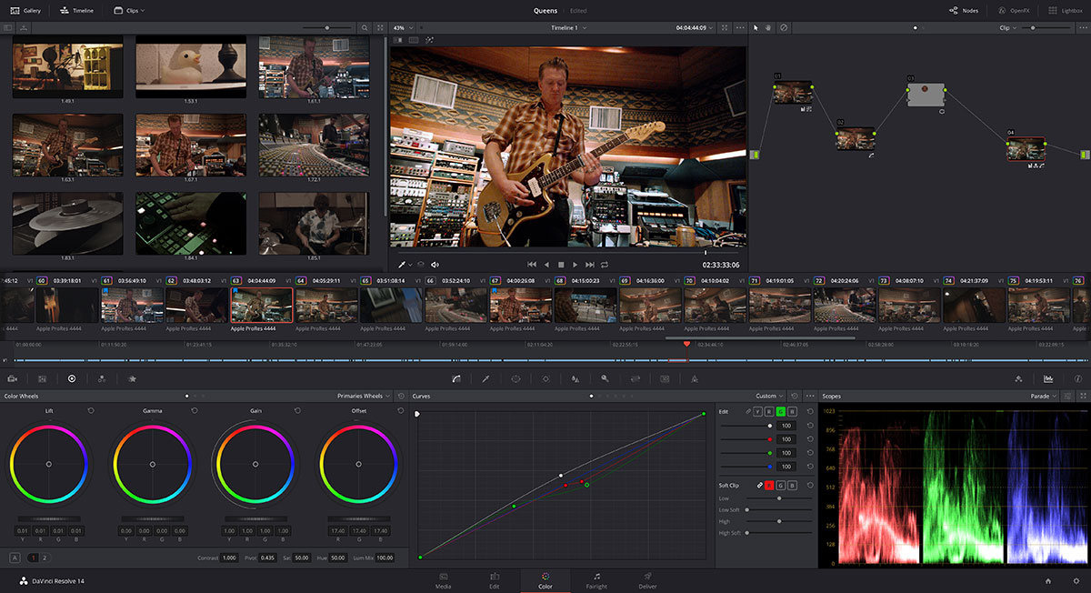 Blackmagic Design Davinci Resolve 14 Digitalfilms