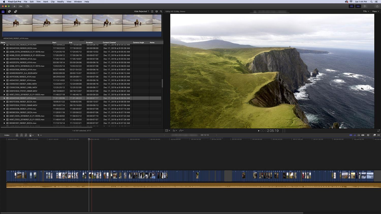 Editing with the 2018 Mac mini « digitalfilms
